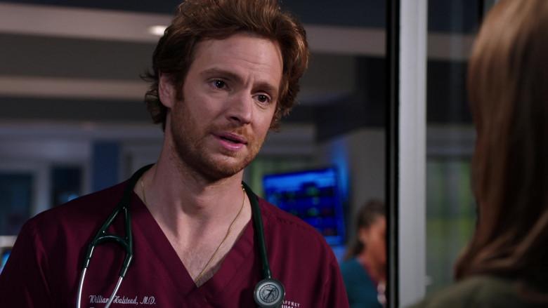 3M Littmann Stethoscope of Nick Gehlfuss as Dr. Will Halstead in Chicago Med S06E01 (2)