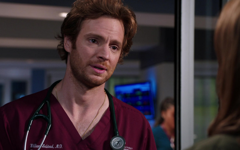 3M Littmann Stethoscope of Nick Gehlfuss as Dr. Will Halstead in Chicago Med S06E01 (2)