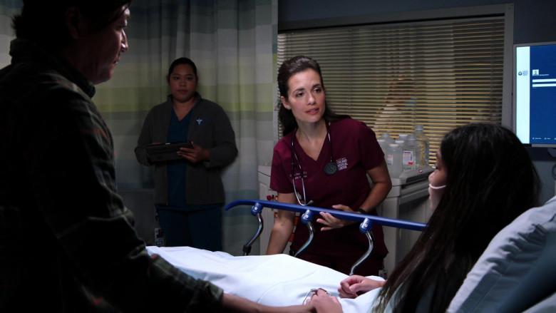 3M Littmann Stethoscope of Torrey DeVitto as Dr. Natalie Manning in Chicago Med S06E01 (1)