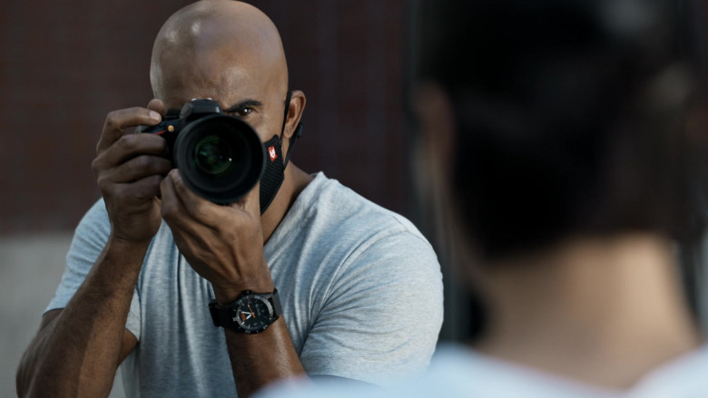 5.11 Tactical Men's Watch of Shemar Moore as Sergeant II Daniel 'Hondo' Harrelson Jr. in SWAT S04E02 TV Show (1)