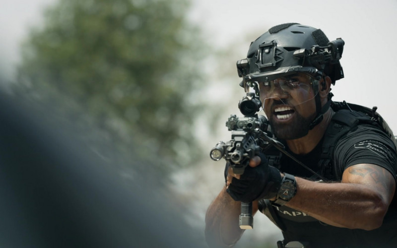 5.11 Tactical Watch Worn by Shemar Moore as Daniel 'Hondo' Harrelson in S.W.A.T. S04E04