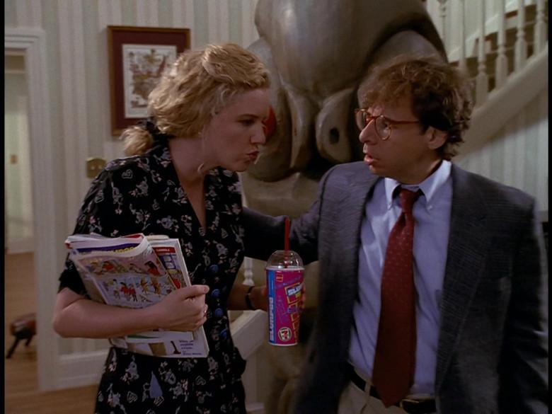 7-Eleven Drink of Eve Gordon as Diane Szalinski in Honey, We Shrunk Ourselves! (1997)