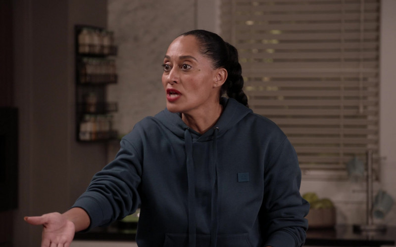 Acne Hoodie Women's Outfit of Tracee Ellis Ross in Black-ish S07E05 (1)