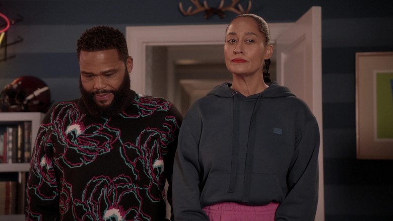 Acne Hoodie Women's Outfit of Tracee Ellis Ross in Black-ish S07E05 (2)