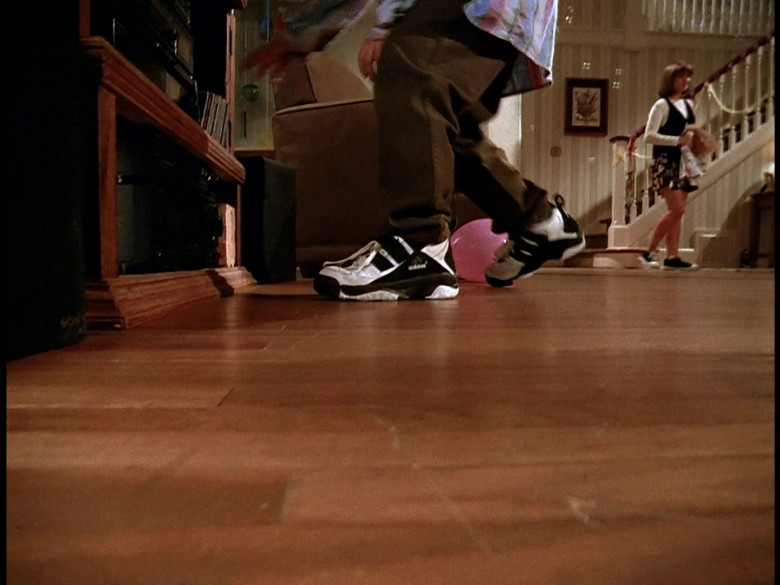 Adidas Black & White Trainers in Honey, We Shrunk Ourselves! (1997)