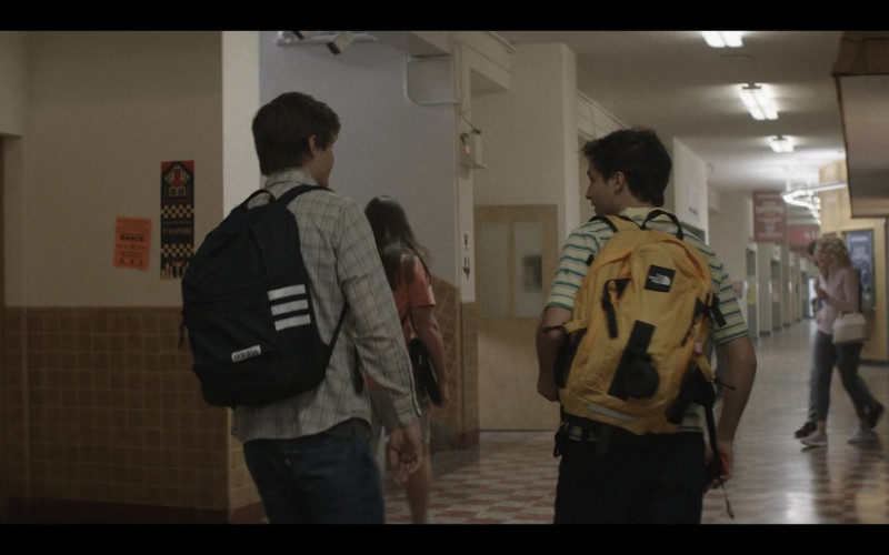 Adidas and The North Face Backpacks in A Teacher S01E02 (2020)