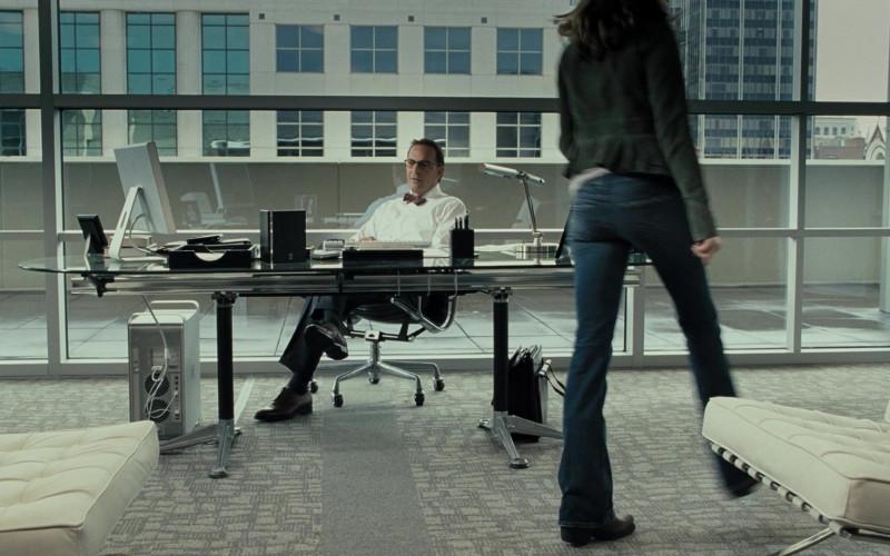 Apple Cinema HD Display Monitor and PowerMac Computer of Kevin Costner as Earl Brooks Apple Cinema HD Display Monitor and