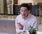 Apple MacBook Laptop of Ben Feldman as Jonah Simms in Supers...