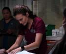 Apple Watch of Torrey DeVitto as Dr. Natalie Manning in Chic...