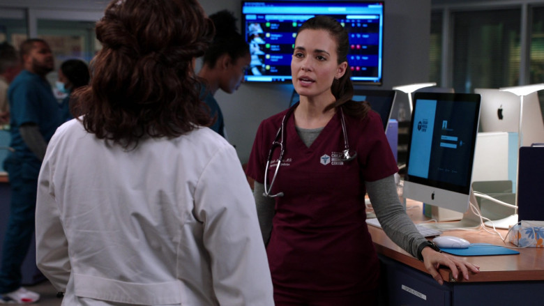 Apple iMac All-in-One Macintosh Desktop Computers in Chicago Med S06E02 (2)