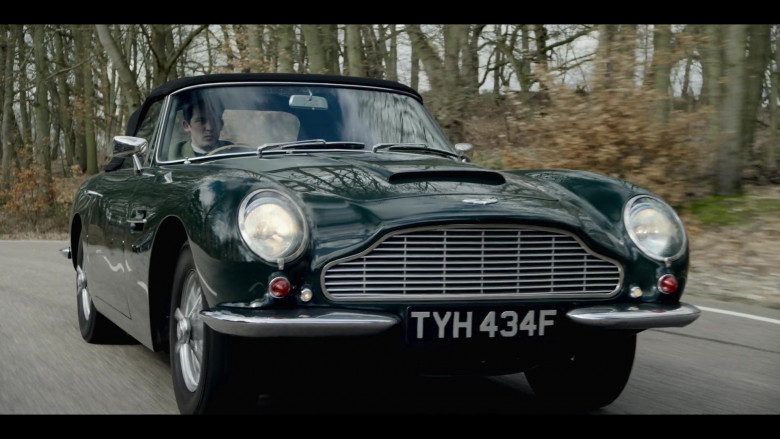 Aston Martin Car in The Crown S04E01 Gold Stick (2020)