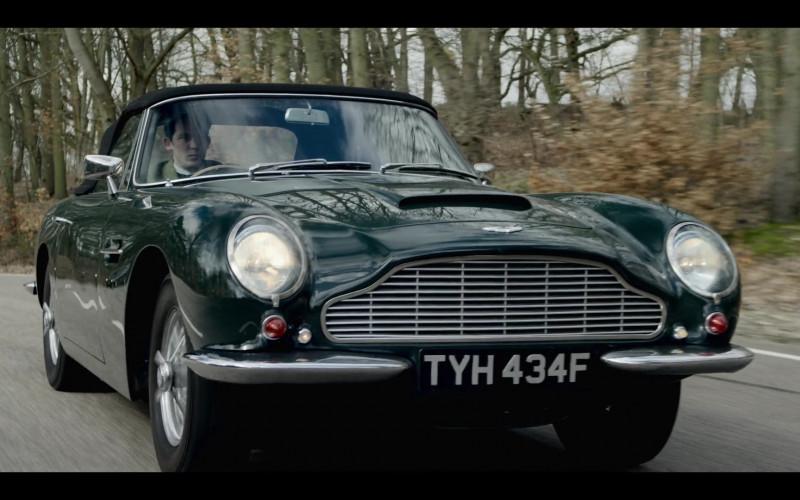 Aston Martin Car in The Crown S04E01 Gold Stick (2020)