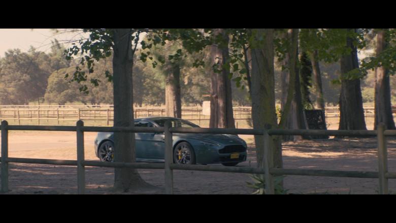 Aston Martin Vanquish Sports Car in Black Beauty (2020)