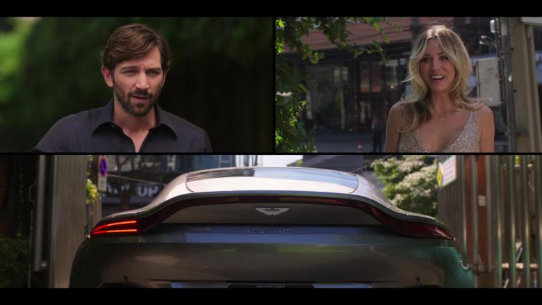 Aston Martin DB11 Sports Car of Michiel Huisman as Alex in The Flight Attendant S01E01 TV Show (2)