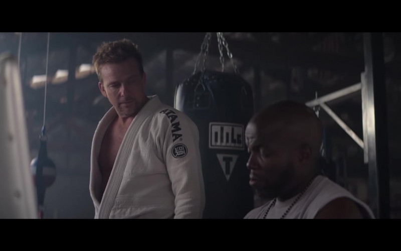 Atama Kimono of Sean Patrick Flanery as Mickey in Born a Champion (2021)