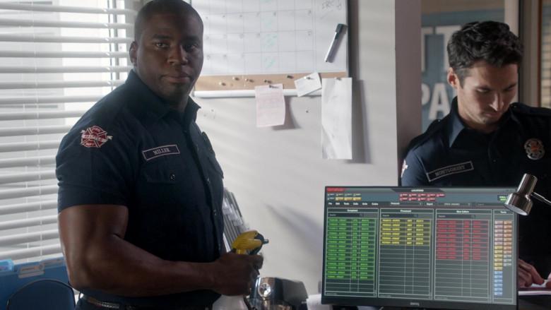 Benq Monitor in Station 19 S04E02 Wild World (2020)
