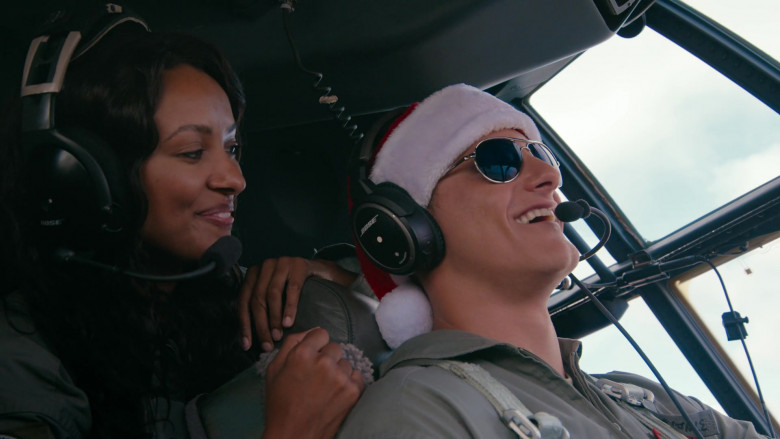 Bose Aviation Headset of Alexander Ludwig as Captain Andrew Jantz in Operation Christmas Drop (2)