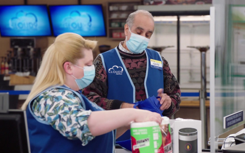 Brawny Paper Towels in Superstore S06E04 Prize Wheel (2020)