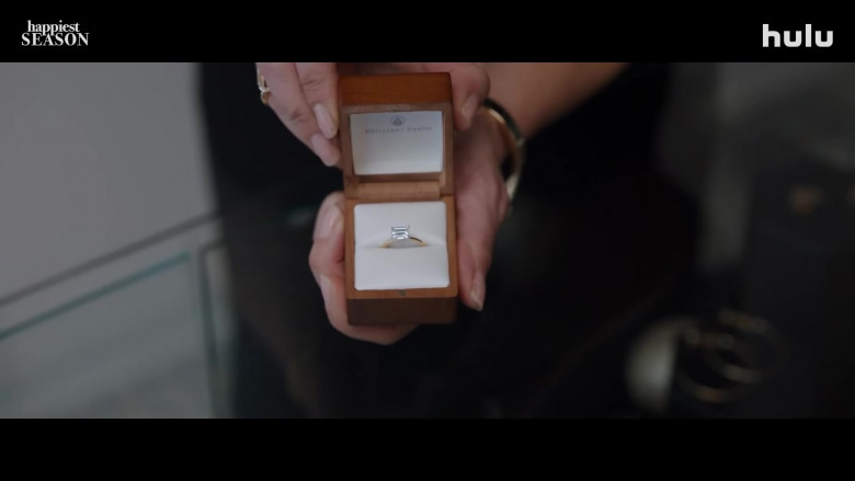 Brilliant Earth Wedding Ring in Happiest Season (2020)