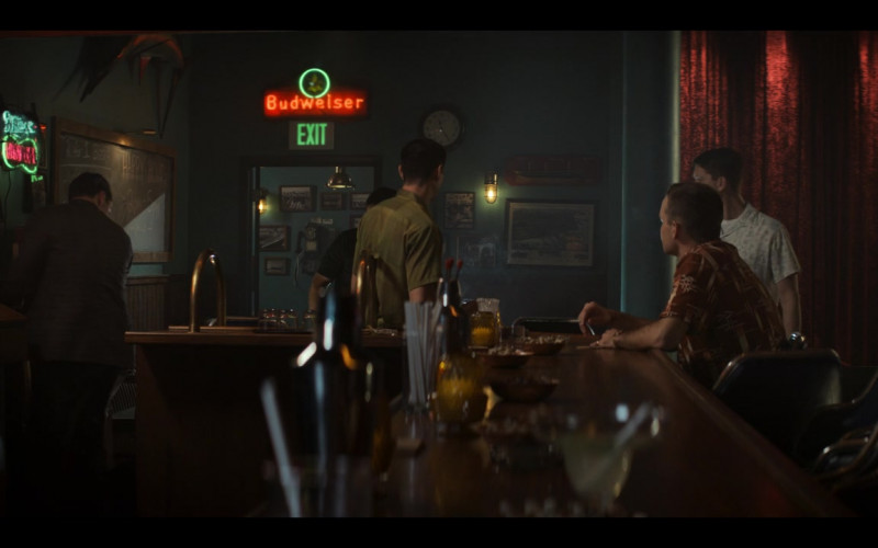 Budweiser Beer Signs in The Right Stuff S01E06 (3)