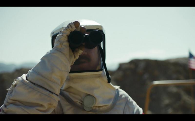 Bushnell Binocular of John C. Reilly as Robert 'Cap' Caputo in Moonbase 8 S01E01 Dry (2020)