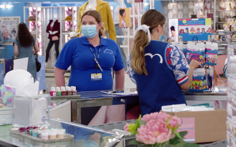 Care Cover Protective Masks in Superstore S06E03 Floor Supervisor (2020)