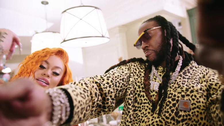 Carhartt Leopard Outfit of 2 Chainz in Quarantine Thick (1)