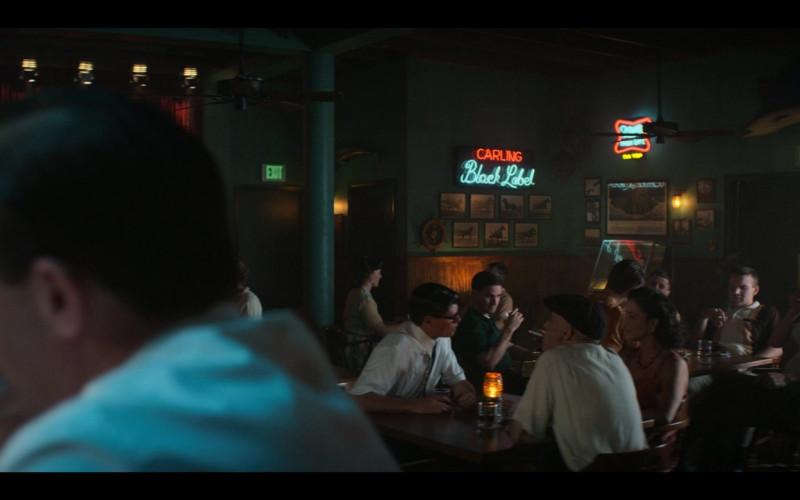 Carling Black Label Sign in The Right Stuff S01E07 Ziggurat (2020)
