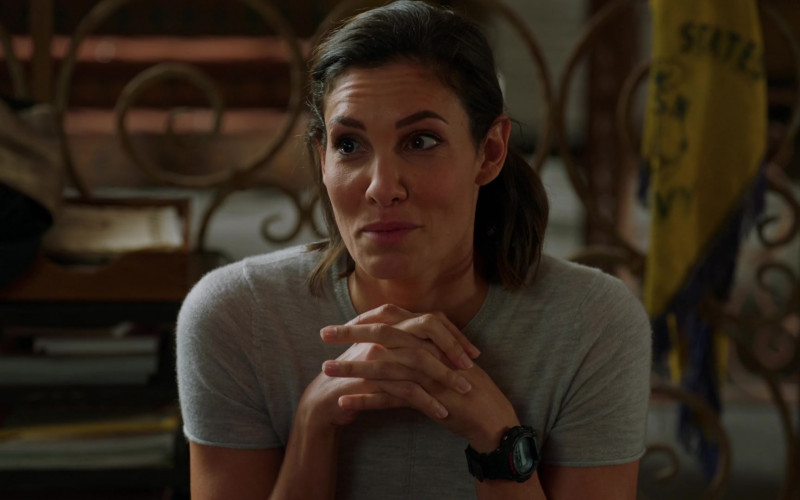 Casio G-Shock Watch of Daniela Ruah as Kensi Blye in NCIS Los Angeles S12E01 (1)