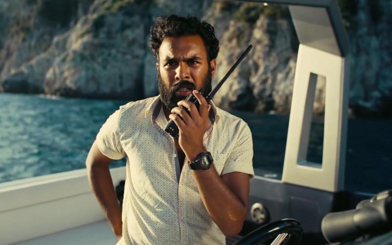 Casio G-Shock Watch of Himesh Patel as Mahir in Tenet (2020)