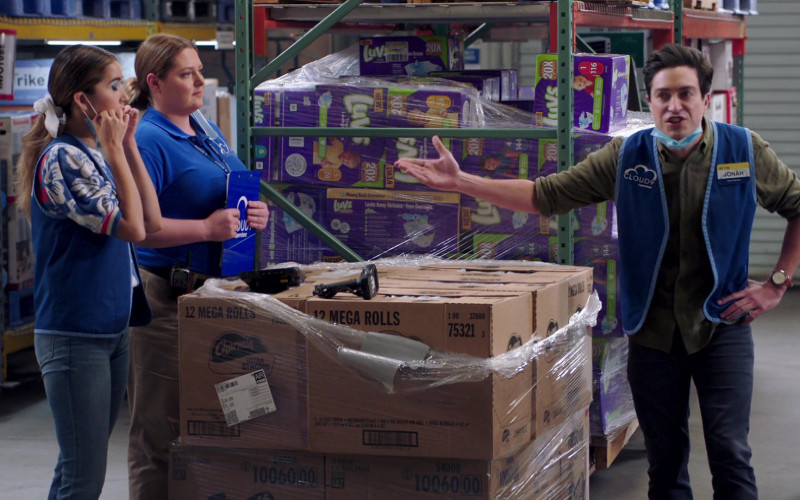 Charmin Ultra Strong and Luvs Diapers in Superstore S06E03 Floor Supervisor (2020)