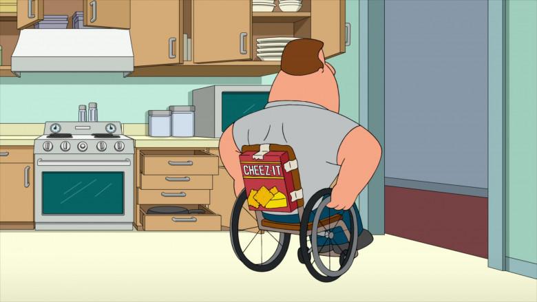 Cheez-It Crackers in Family Guy S19E06 Meg's Wedding (2020)