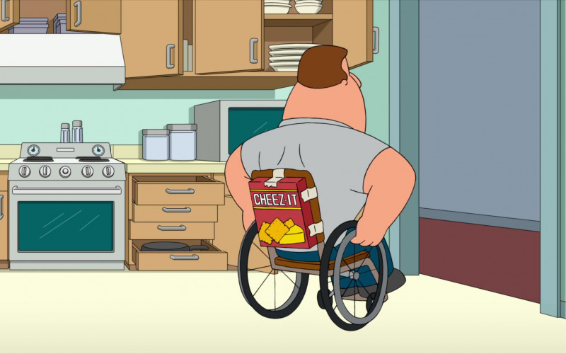 Cheez-It Crackers in Family Guy S19E06 Meg's Wedding (2020)