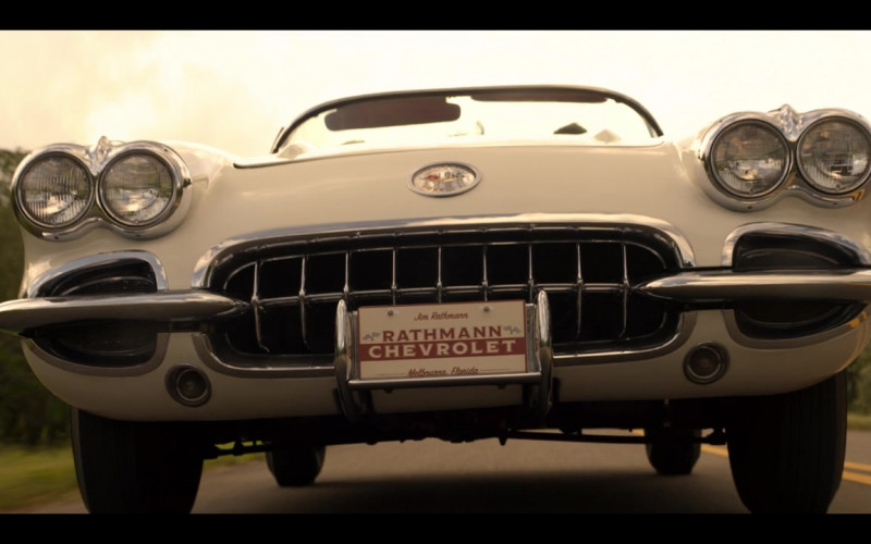 Chevrolet Corvette C1 Retro Convertible Car in The Right Stuff S01E07 Ziggurat (2020)