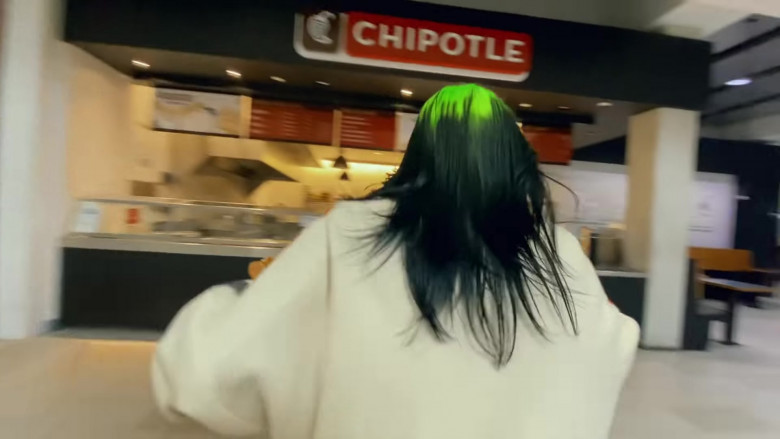Chipotle Mexican Grill in 'Therefore I Am' by Billie Eilish (1)