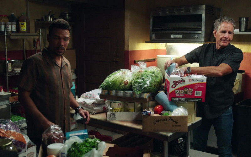 Chisesi's Pride and Zapp's Variety Box Snacks in NCIS New Orleans S07E01 Something in the Air, Part 1 (2020)