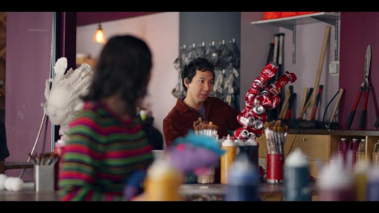 Coca-Cola Cans in Dash & Lily S01E05 TV Show (1)
