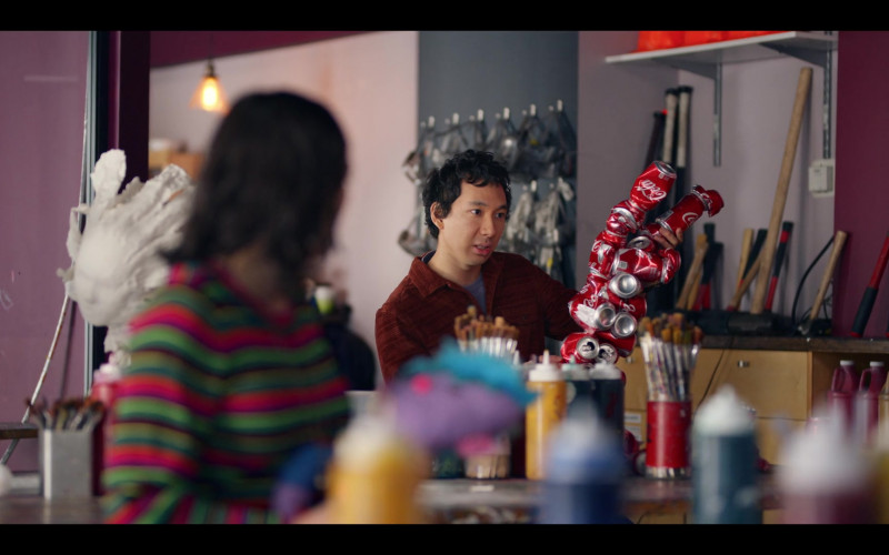 Coca-Cola Cans in Dash & Lily S01E05 TV Show (1)