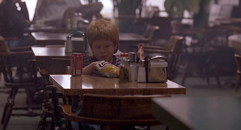 Coca-Cola Drink and Lay's Chips of Zach English as Patrick in The Real McCoy (1993)