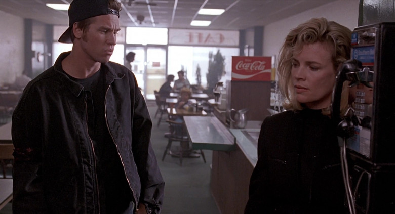 Coca-Cola Poster in The Real McCoy (1993)