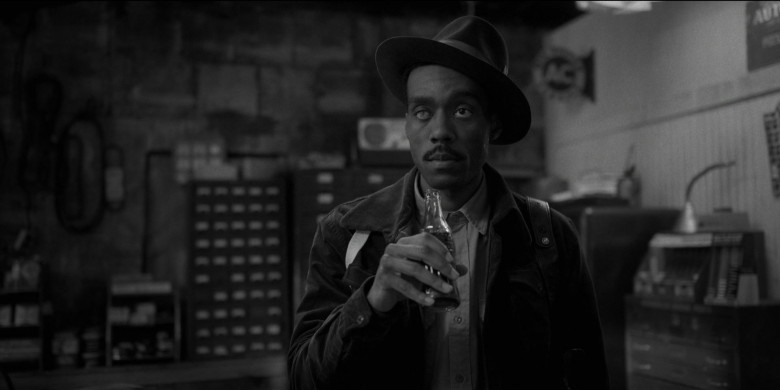 Coca-Cola Soda Enjoyed by Corey Hendrix as Omie Sparkman in Fargo S04E09 EastWest (2020)