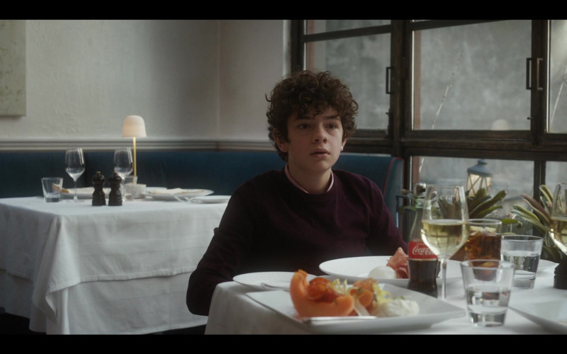 Coca-Cola Soda Enjoyed by Noah Jupe as Henry in The Undoing S01E05 Trial by Fury (2020)