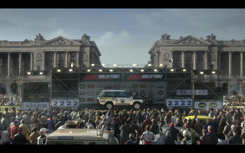 Dakar Rally 1982 Sikkens, Lois, Esso in The Crown S04E04 Favourites (2020)