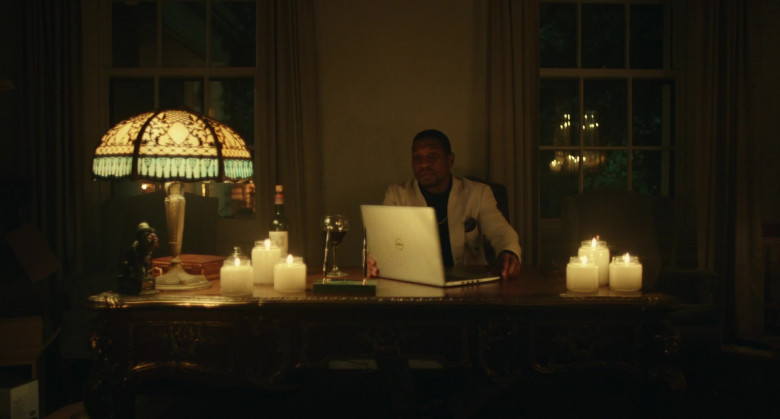 Dell Laptop of Jonathan Majors as Pepper in Jungleland (1)