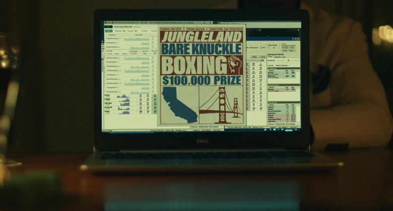 Dell Laptop of Jonathan Majors as Pepper in Jungleland (3)