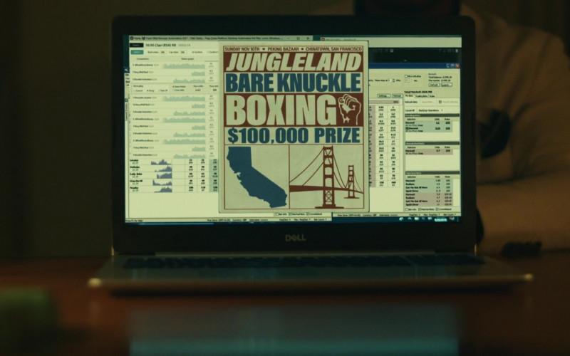 Dell Laptop of Jonathan Majors as Pepper in Jungleland (3)