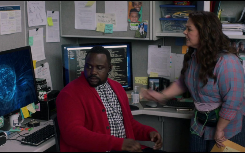 Dell Monitor Used by Brian Tyree Henry as Dennis in Superintelligence (2020)