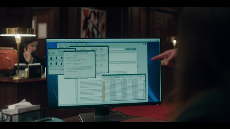 Dell Monitor in The Undoing S01E03 Do No Harm (2020)