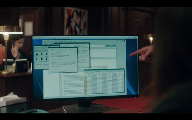 Dell Monitor in The Undoing S01E03 Do No Harm (2020)