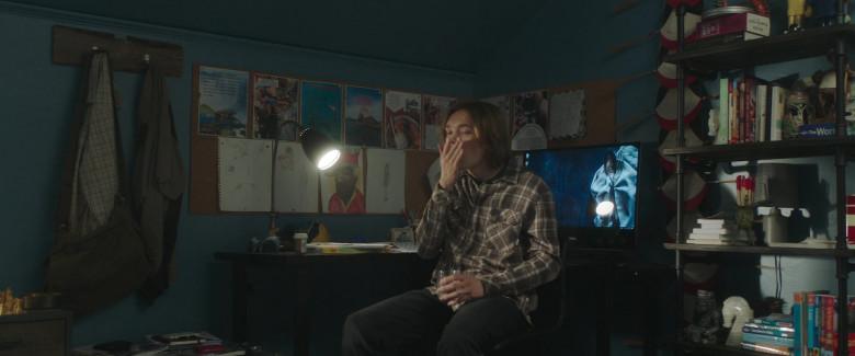 Dell AIO PC of Charlie Plummer as Adam Petrazelli in Words on Bathroom Walls (2020)